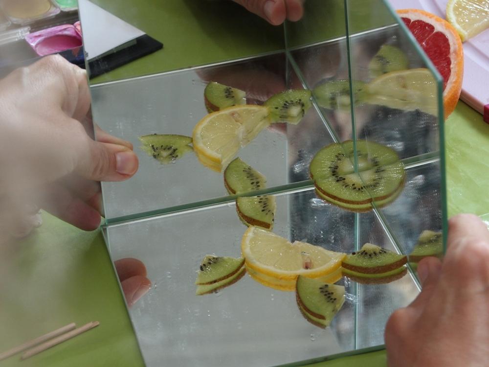 Mathematik entdecken im Fruchtsalat